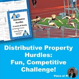 Distributive Property Combine Like Terms Hurdles Differentiation 7.EE.1 8.EE.1