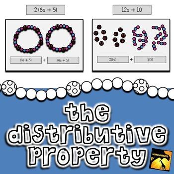 Distributive Property Investigation - Bracelets