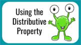 Distributive Property (Many Methods)