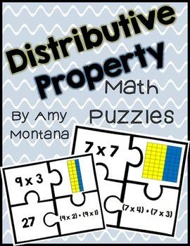 Distributive Property Match-Up Activity
