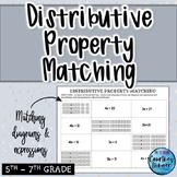 Distributive Property Matching