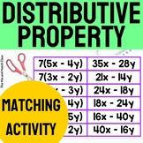 Distributive Property Matching Activity
