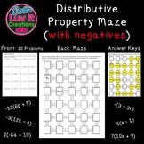 Distributive Property With Negatives 2 Mazes