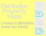 Distributive Property Maze