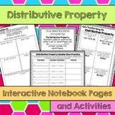 Distributive Property Interactive Notebook