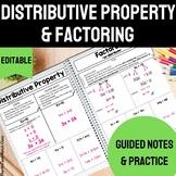 Distributive Property Notes   Factoring Notes   Distributi