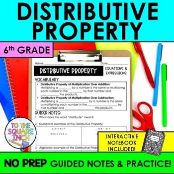 Distributive Property Notes