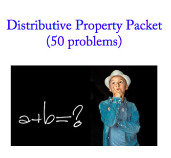 Distributive Property (50 problems)