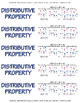 Distributive Property Posters