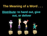 Distributive Property Beginning Level Power Point Common Core