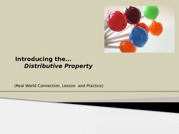 Distributive Property (PowerPoint)