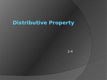 Distributive Property Practice