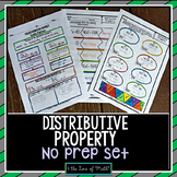 Distributive Property Print and Go