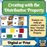 Distributive Property - Projects - Activities - Distance Learning