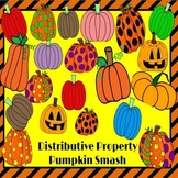 Distributive Property: Pumpkin Smash Halloween PowerPoint Game