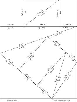 Distributive Property Puzzle