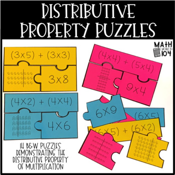 Distributive Property Puzzles