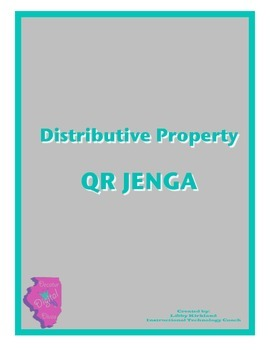 Distributive Property QR Code Jenga Game