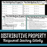 Distributive Property Reciprocal Learning Activity {Editable}