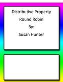 Distributive Property Round Robin Common Core 6th and 7th