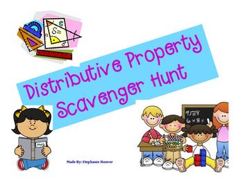 Distributive Property Scavenger Hunt