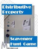 Distributive Property Scavenger Hunt Game