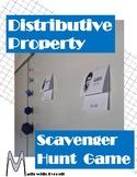 Distributive Property Scavenger Hunt Game