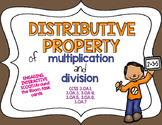 Distributive Property Scoot:  Third Grade Common Core Aligned