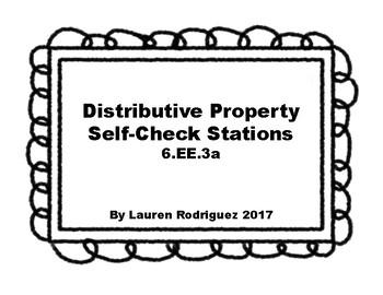 Distributive Property Self-Check Stations