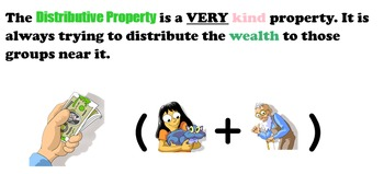 Distributive Property SmartNotebook