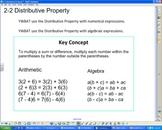 Distributive Property Smartboard