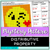 Distributive Property: Mystery Picture (Emoji)