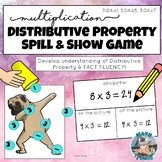 Shake and Spill Multiplication! DISTRIBUTIVE PROPERTY and