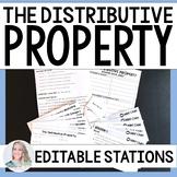 Distributive Property Stations