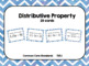 Distributive Property Task Card Bundle (80 cards)