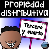 Distributive Property in Spanish / Propiedad distributiva / Multiplicación