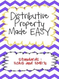 Distributive Property made EASY!  Common Core Aligned 3.OA