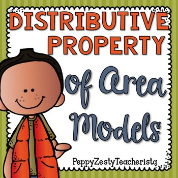 Distributive Property of Area Models [Multiplication]