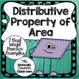 Distributive Property of Area Sheets