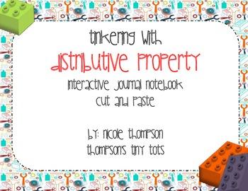 Distributive Property of Multiplicaiton Math Journal Interactive