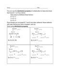 Distributive Property of Multiplication 2