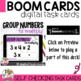 Group Numbers to Multiply Boom Cards