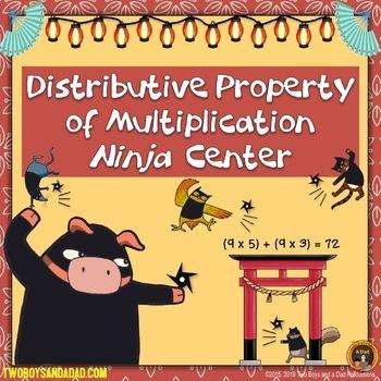 Distributive Property of Multiplication Bundle