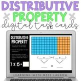 Distributive Property of Multiplication Digital Task Cards
