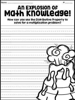 Distributive Property of Multiplication Dinosaurs!