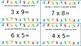 Distributive Property of Multiplication Flash Cards