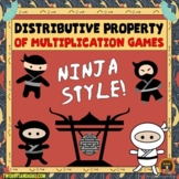 Distributive Property of Multiplication Games