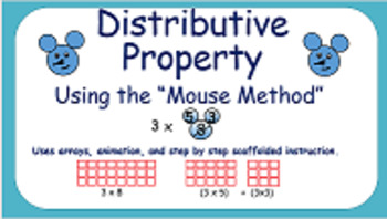 Distributive Property of Multiplication - Engaging Mouse M