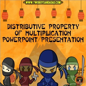 Distributive Property of Multiplication PowerPoint Lesson