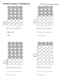 Distributive Property of Multiplication Practice